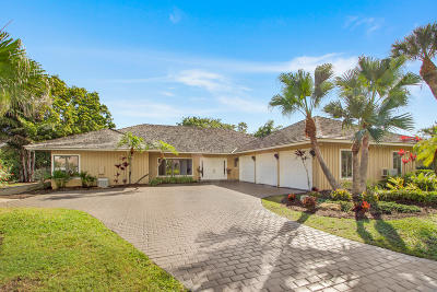 Jupiter Single Family Home Contingent: 19859 Wilkinson Leas Road