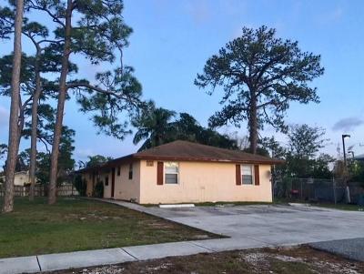 Greenacres Single Family Home For Sale: 3132 Swain Boulevard