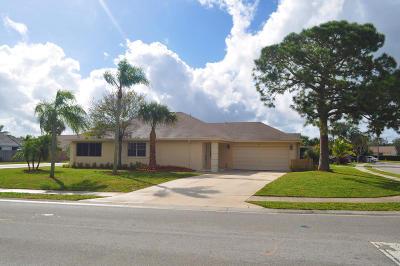 Jupiter Single Family Home For Sale: 101 Raintree Trail