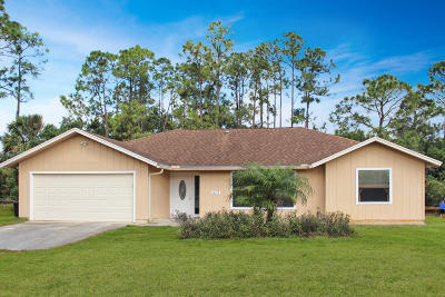 West Palm Beach Single Family Home For Sale: 13617 44th Place