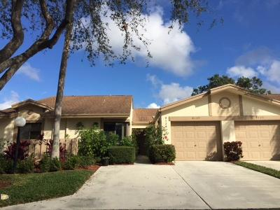Boca Raton Single Family Home For Sale: 8139 Whispering Palm Drive #E