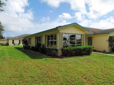 Delray Beach Single Family Home Contingent: 5121 Lakefront Boulevard #A