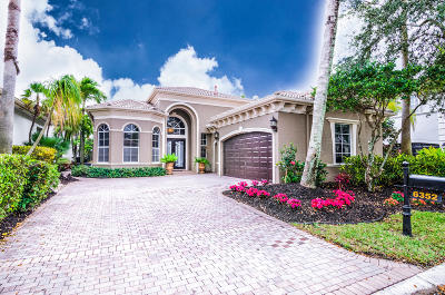 Delray Beach Single Family Home For Sale: 6352 Via Venetia