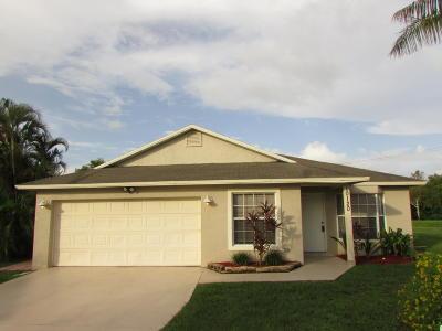 Boynton Beach Single Family Home For Sale: 10120 Boynton Place Circle