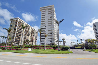 Cloister Beach Towers Condo Condo For Sale: 1200 S Ocean Boulevard #3 H