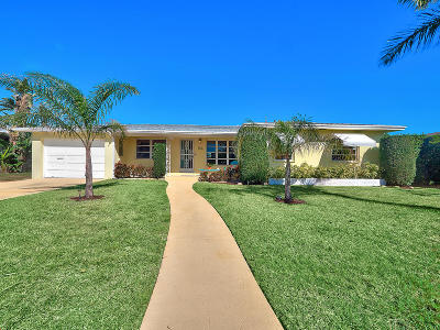 Lake Worth Single Family Home For Sale: 154 Bryn Mawr Drive