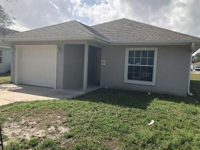 Vero Beach Single Family Home For Sale: 1175 13th Avenue SW