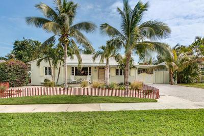 Delray Beach Single Family Home For Sale: 220 Dixie Boulevard