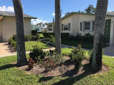 West Palm Beach Single Family Home For Sale: 2956 Crosley Drive E #A