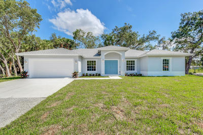 Palm Beach Gardens Single Family Home Contingent: 15741 97th Road