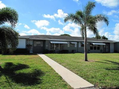 Delray Beach Single Family Home Contingent: 825 North Drive #B