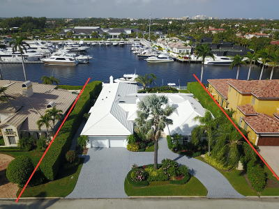 Boca Raton Single Family Home For Sale: 169 W Key Palm Road