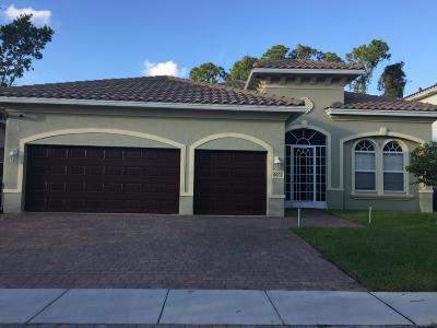 West Palm Beach Single Family Home For Sale: 6675 Aliso Avenue