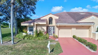Boca Raton Single Family Home For Sale: 11001 Lakemore Lane #A