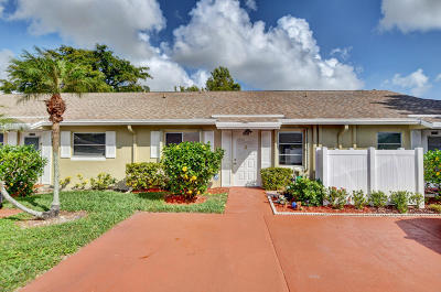Boca Raton Single Family Home For Sale: 18888 Argosy Drive #C