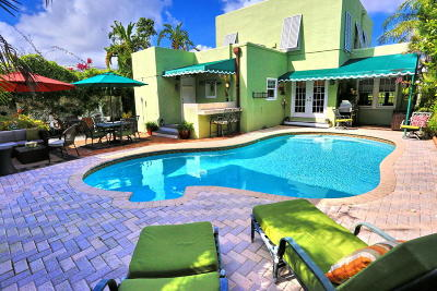 West Palm Beach Single Family Home For Sale: 202 Greenwood Drive