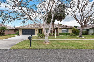 Boca Raton Single Family Home For Sale: 22074 Soliel Circle W