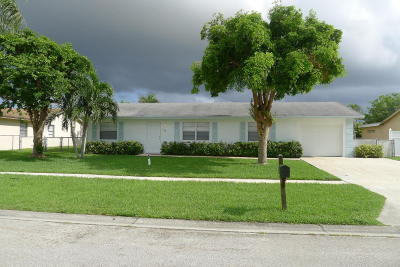 Royal Palm Beach Single Family Home Contingent: 139 Eider Court