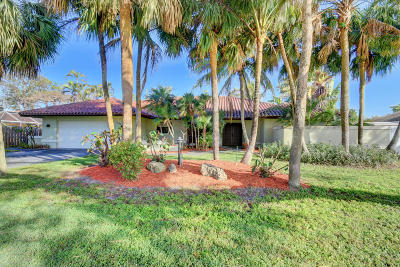 Boca Raton Single Family Home Contingent: 1191 SW 17th Street