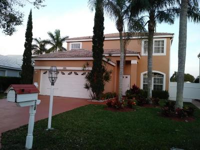 Greenacres Single Family Home For Sale: 118 Rosewood Lane