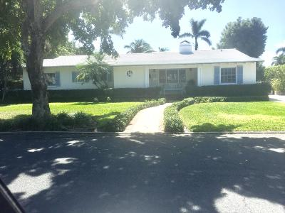 West Palm Beach Single Family Home Contingent: 224 Potter Road