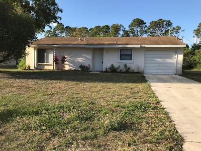 Vero Beach Single Family Home For Sale: 1626 21st Place SW