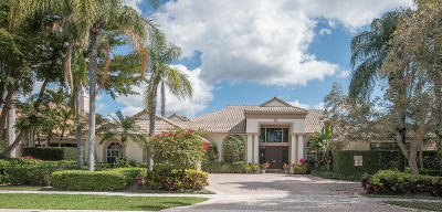 West Palm Beach Single Family Home For Sale: 10792 Egret Pointe Lane
