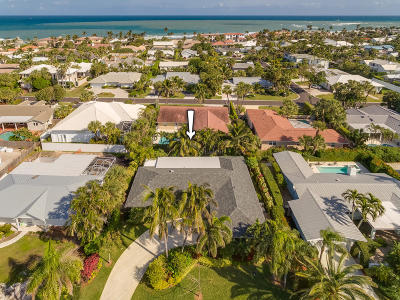 Jupiter Inlet Colony Single Family Home For Sale: 173 Beacon Lane