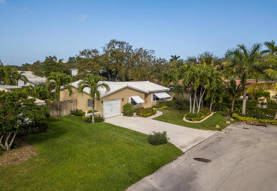 Boca Raton Single Family Home Contingent: 1001 NW 3rd Street