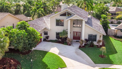 Palm Beach Gardens Single Family Home For Sale: 2503 Monaco Terrace