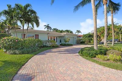 Palm Beach Shores Single Family Home For Sale: 330 Blossom Lane