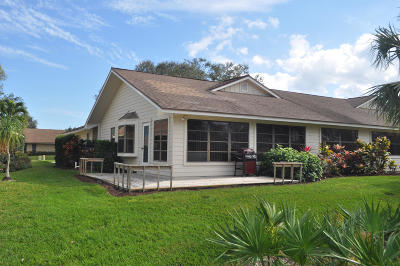 Hobe Sound Townhouse For Sale: 8381 SE Eaglewood Way