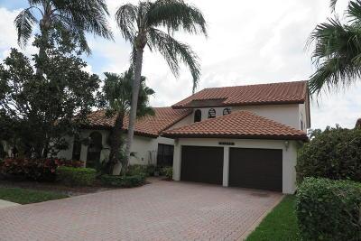 Boca Raton Single Family Home For Sale: 22573 Esplanada Drive