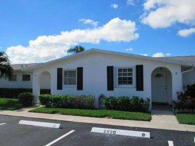 West Palm Beach Single Family Home For Sale: 2920 Crosley Dr E #D