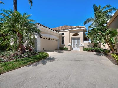 Palm Beach Gardens Single Family Home For Sale: 211 Coral Cay Terrace