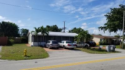 Pompano Beach Single Family Home For Sale: 1650 NE 33 Street