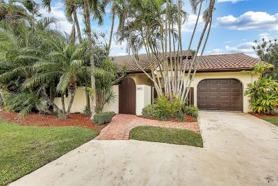 Boca Raton Single Family Home For Sale: 6805 Tiburon Circle