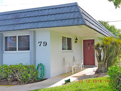 West Palm Beach Single Family Home For Sale: 2886 Fernley Drive E #79