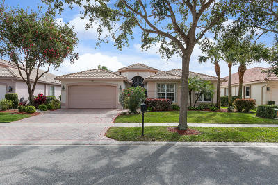 Delray Beach Single Family Home For Sale: 7071 Francisco Bend Drive