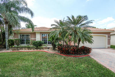 Lake Worth Single Family Home For Sale: 7773 Royale River Lane