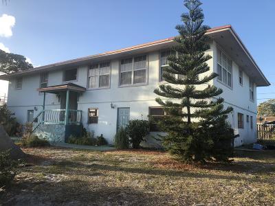 West Palm Beach Single Family Home For Sale: 445 Summa Street