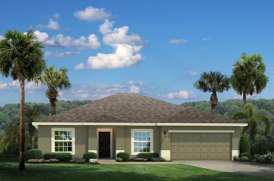 Fort Pierce Single Family Home For Sale: 5364 Oakland Lake Circle