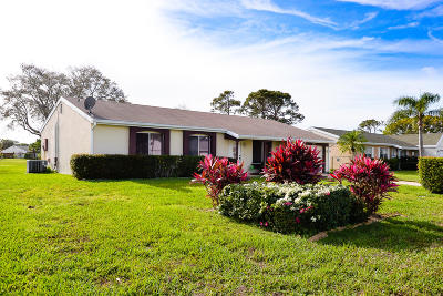Port Saint Lucie Single Family Home For Sale: 1762 SE Lullaby Terrace