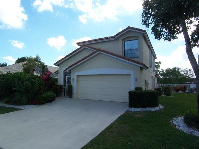 Greenacres Single Family Home For Sale: 2740 Pointe Circle