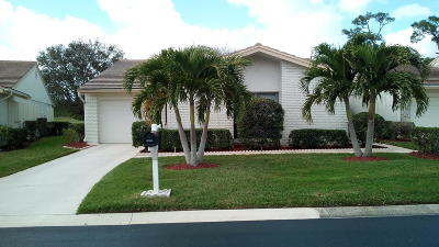 Palm City Single Family Home For Sale: 2651 SW Egret Pond Circle
