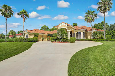 Palm Beach Gardens Single Family Home Contingent: 11691 Stonehaven Way
