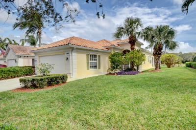 Delray Beach Single Family Home Contingent: 2027 Valencia Drive