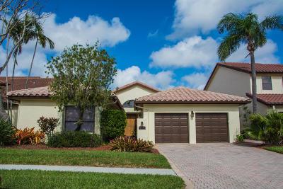 Boca Raton Single Family Home For Sale: 22511 Esplanada Circle W