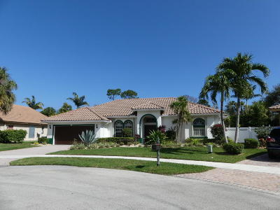 Delray Beach Single Family Home For Sale: 1325 E Barwick Ranch Circle