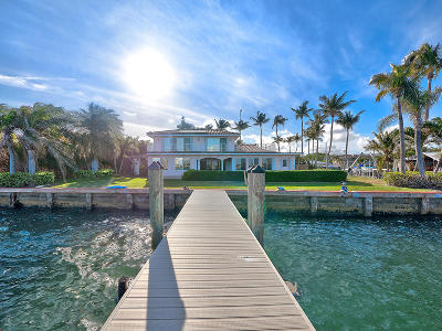 Broward County, Palm Beach County Single Family Home For Sale: 150 Riviera Drive